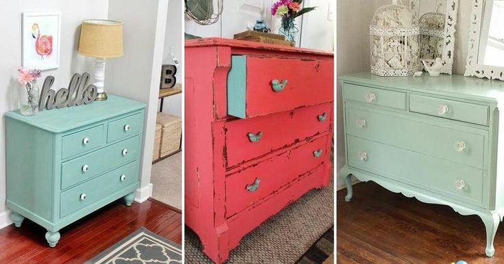 Muebles 100% renovados con pintura y buen gusto