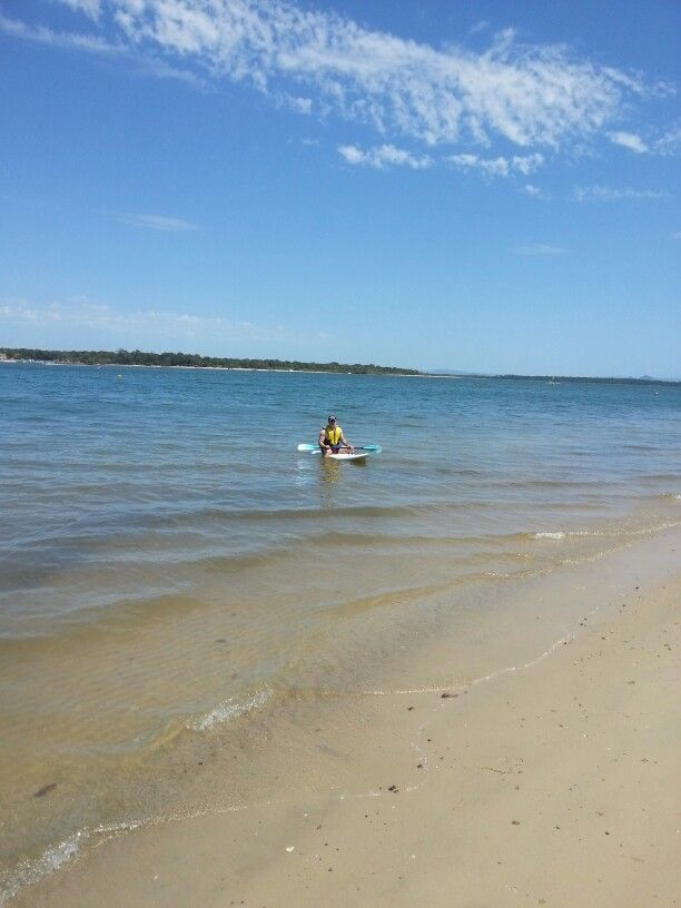 I'm grateful that i got to spend the morning with my handsome boy up at bribie island