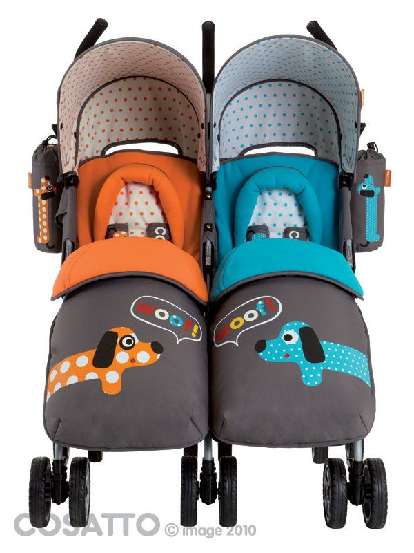 double stroller - I will never need this but it sure is cute :)