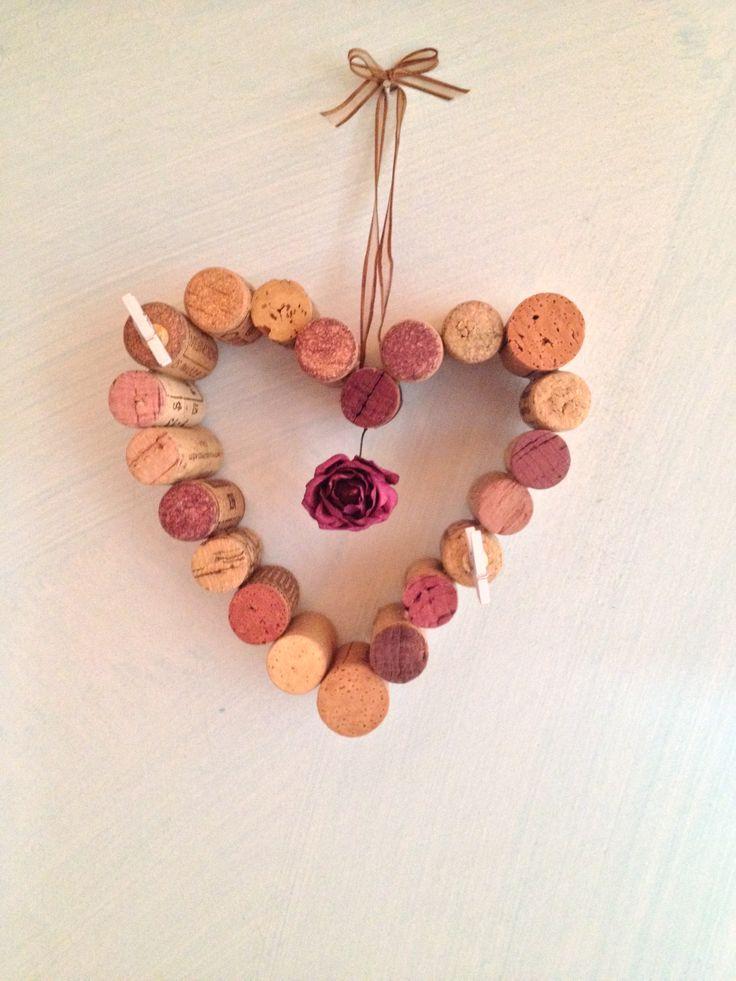 #handmade #memoboard #corks #Wine #rose   #bacheca #tappidisughero #fattoamano    E❤