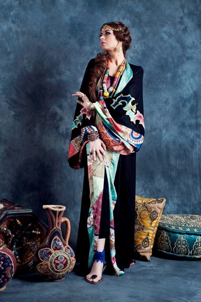 Queen of Spades #abaya . The Maharani Collection (Spring/Summer 2012)