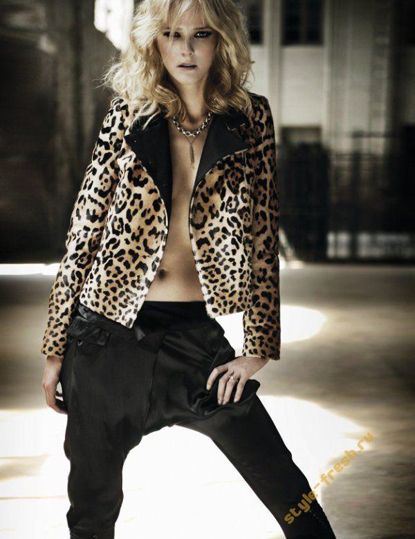 Женские Рубашки и Блузки С Леопардовым Принтом