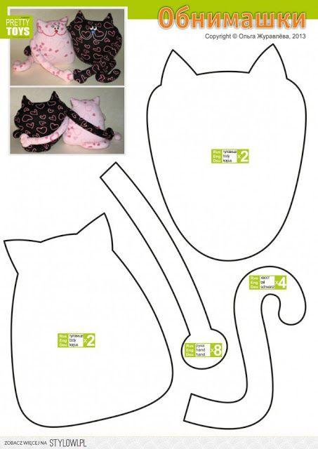 Uszyj to - rękodzieło DIY handmade: Darmowe szablony i wykroje cz. 1.