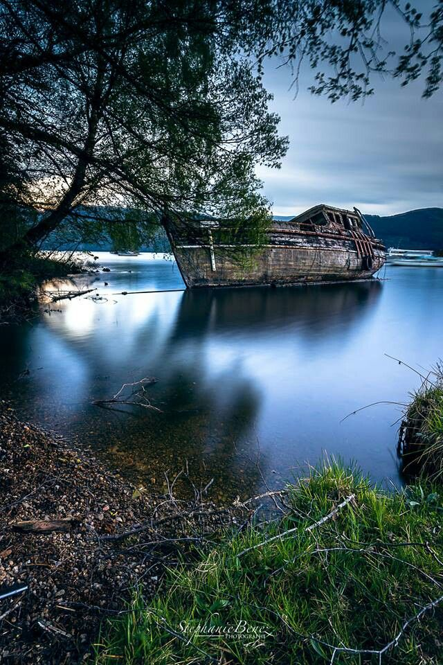 Wreck on Loch Ness | Requiescat in pace | Pinterest ...