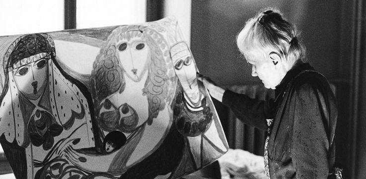 ALOÏSE CORBAZ (1886-1964). Artista marginal suiza incluida en la colección inicial de Jean Dubuffet de arte psiquiátrico. Es una de las pocas artistas femeninas aclamadas.