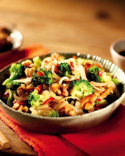 Broccoli Chilli and Soy Stir Fry