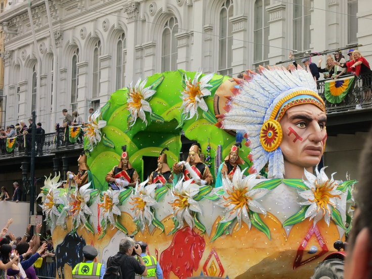 how to get a float in mardi gras parade