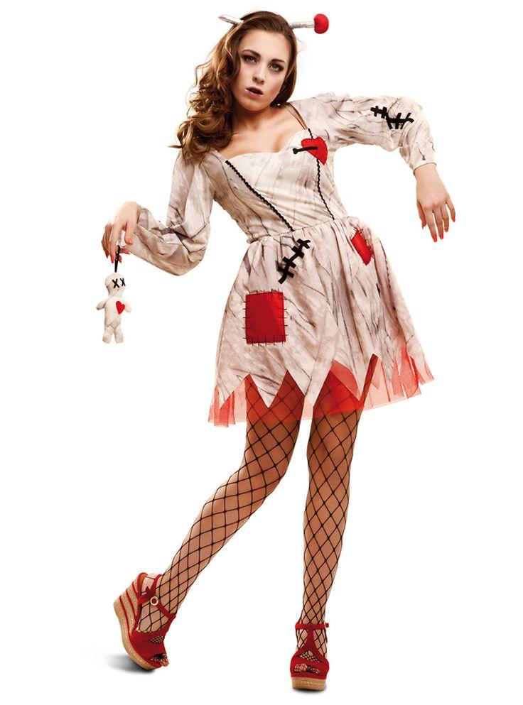 Woman's Vengeful Voodoo Doll Costume
