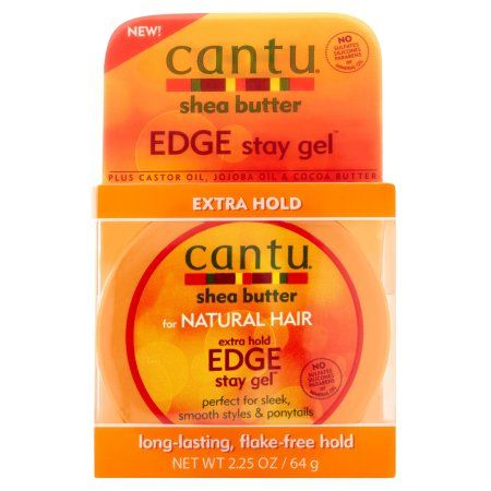 Cantu Edge Stay Gel, 2.25 oz