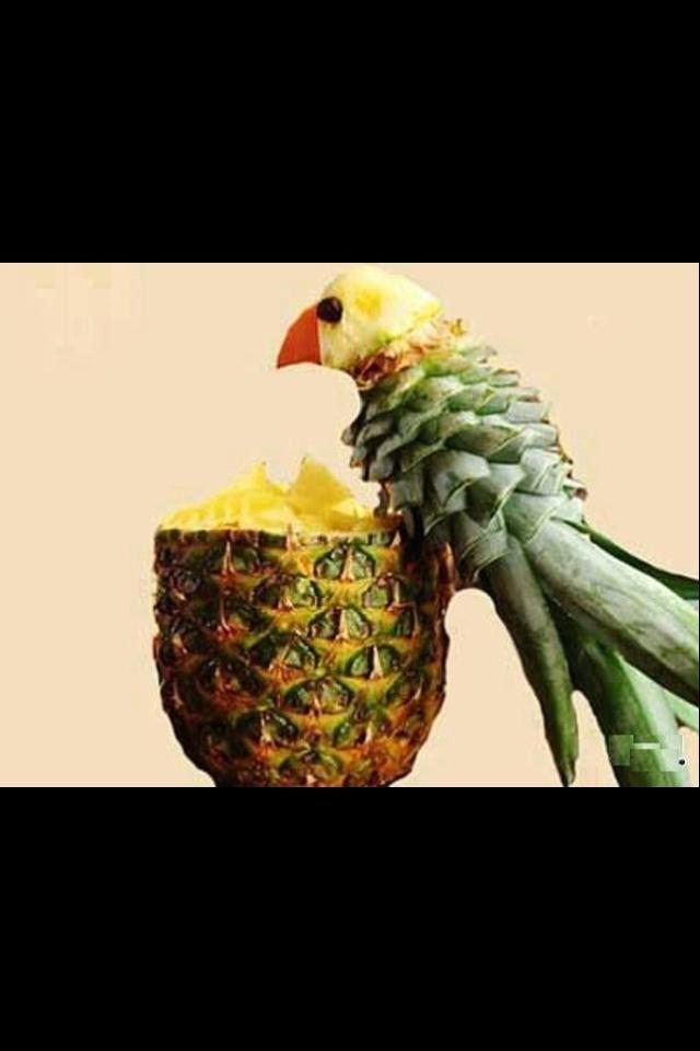 Creative pineapple idea! Wow!