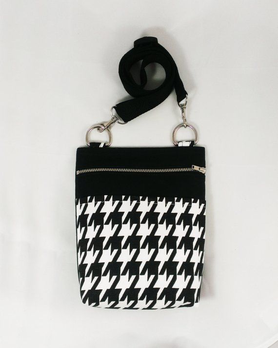 5c24cdb6ce26 Houndstooth Crossbody Purse shoulder bags vegan designer bag everyday womens  small bag crossbody bag