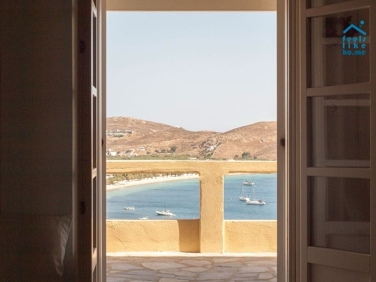 Waking up to this view... Serifos