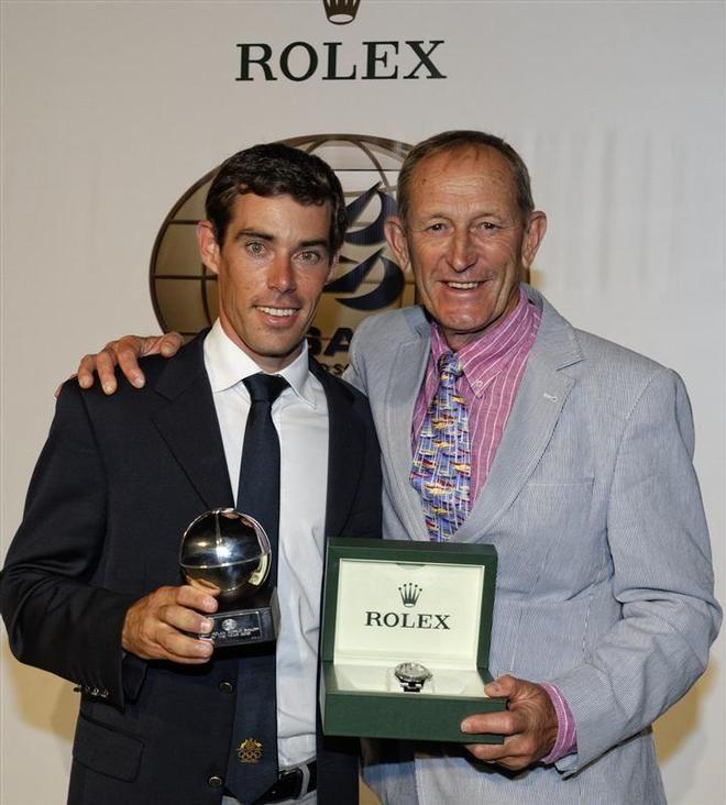 Mat Belcher & Victor Kovalenko - 2013 Rolex World Sailor of the Year! #Aus11 #Rolex #ISAF #AudiAmbassador #OlympicSailing