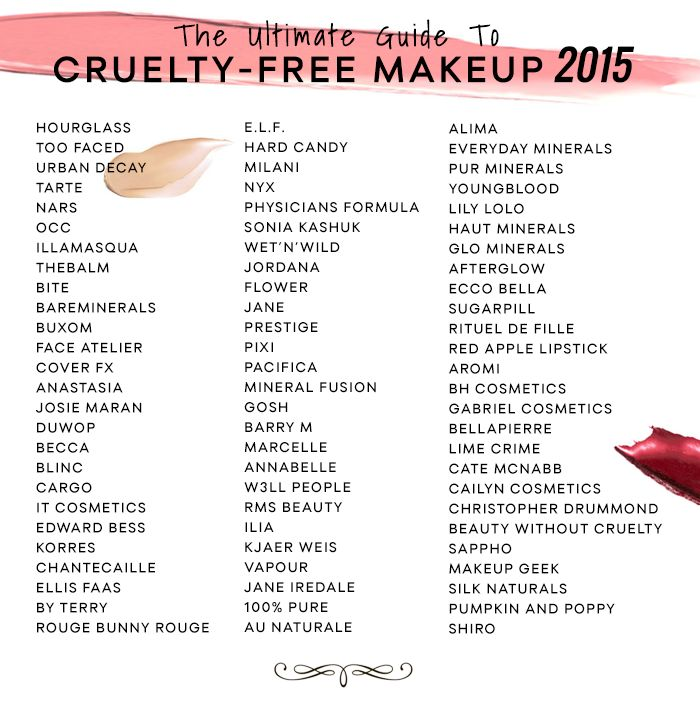 The Ultimate Guide to Cruelty-Free Makeup 2015