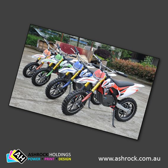 VOLT electric mini Dirtbike (Red)  #ashrock #zuma #electric #dirtbike #volt #24v #500w #red