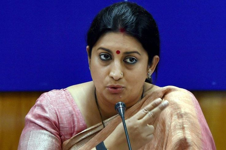 Those Robbed of Black Money Not Letting Parliament Work: Smriti Irani