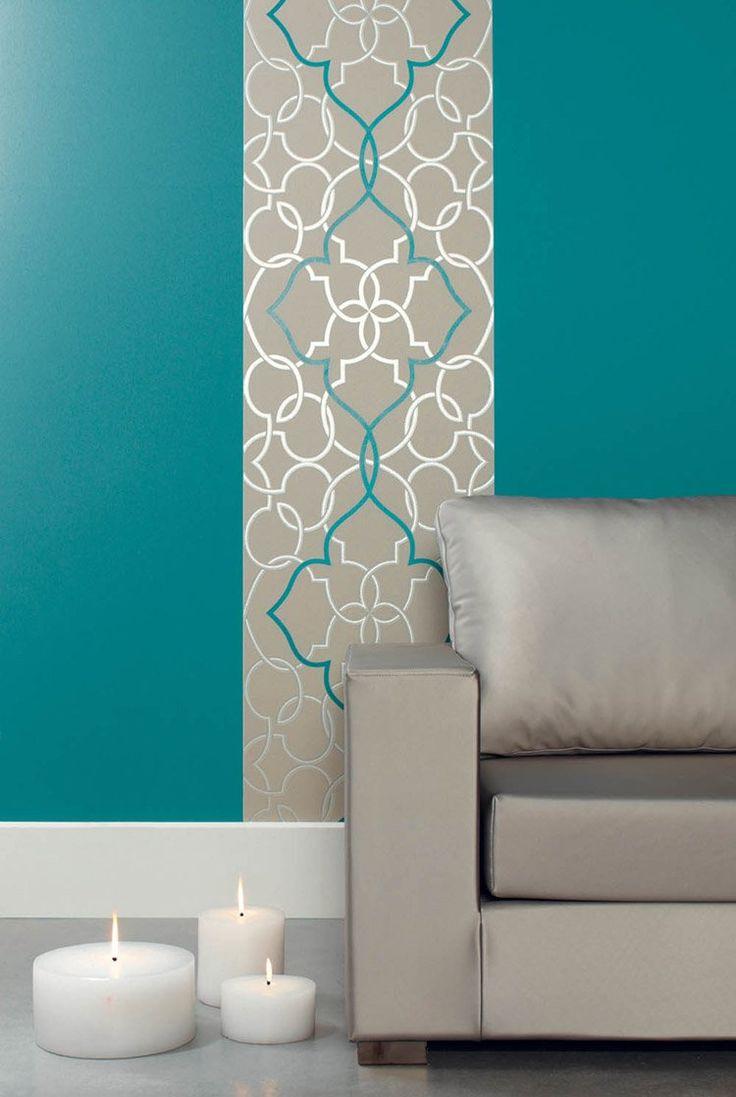 tapeten in türkis (mit Bildern) Deckengestaltung