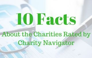 Charity Navigator: DYK these 10 facts about the charities we rate?