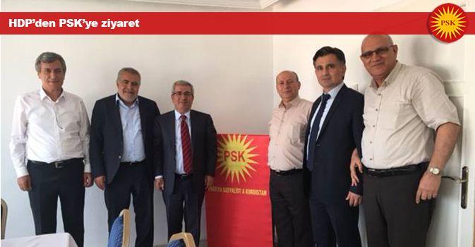 HDP'den PSK'ye ziyaret