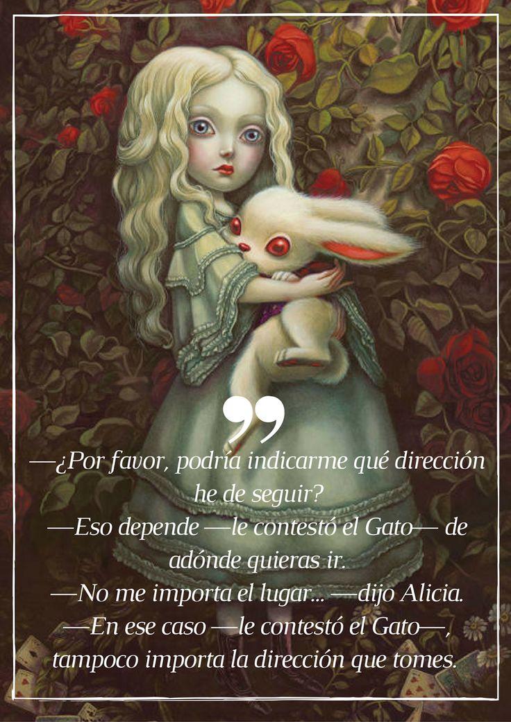Sunday, Sunday #74: Alicia en el País de las Maravillas de Lewis Carroll.  Ilustrado por Benjamin Lacombe.