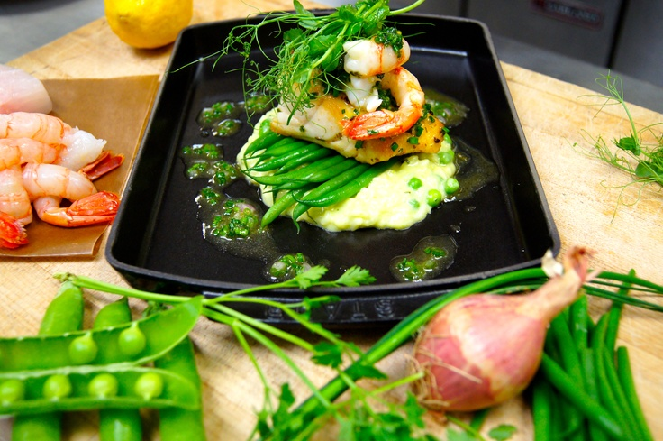 Wahlah, an Ocean Wise meal inspired by our local waters and farmers.