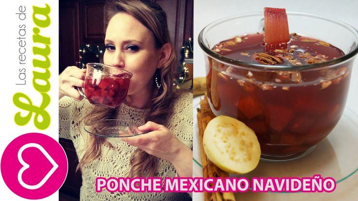 Como hacer PONCHE DE FRUTAS -Navideño -Comida Saludable - Mexican Christ...