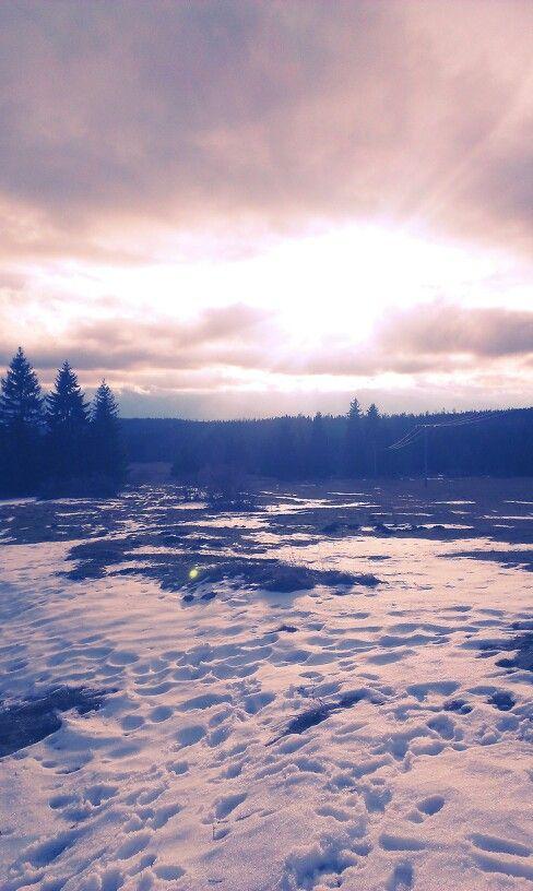 Energy of sunshine «High Tatras - Slovakia»