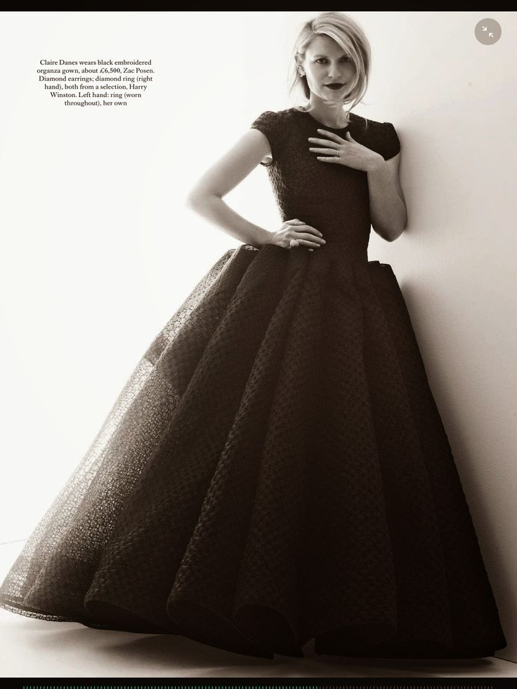 Claire Danes by Alexi Lubomirski