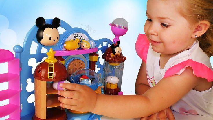 ✿ Новый ДИСНЕЙ ЦУМ ЦУМ Набор Магазин Игры Для Детей Unboxing Disney TSUM TSUM Toys Shop Playset    {{AutoHashTags}}