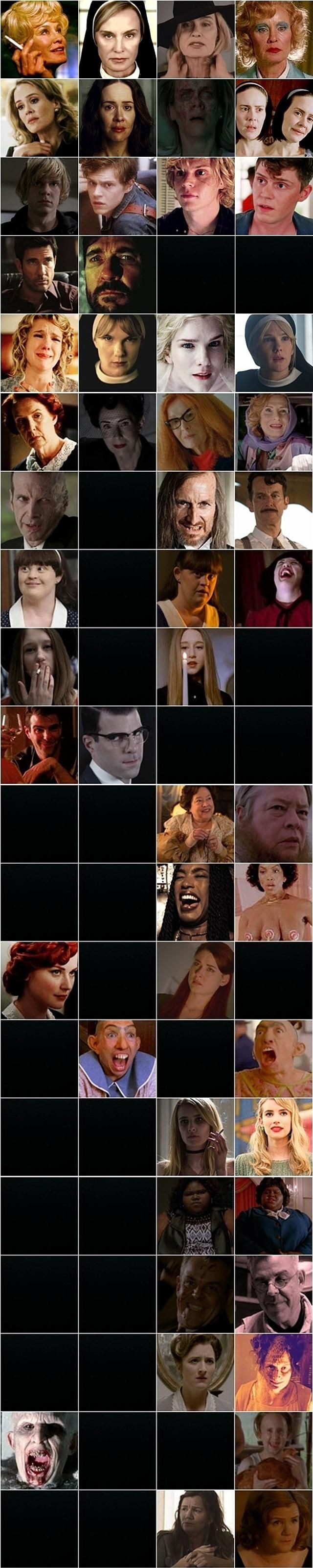 American Horror Story: Who's Coming Back in One Handy Infographic | moviepilot.com