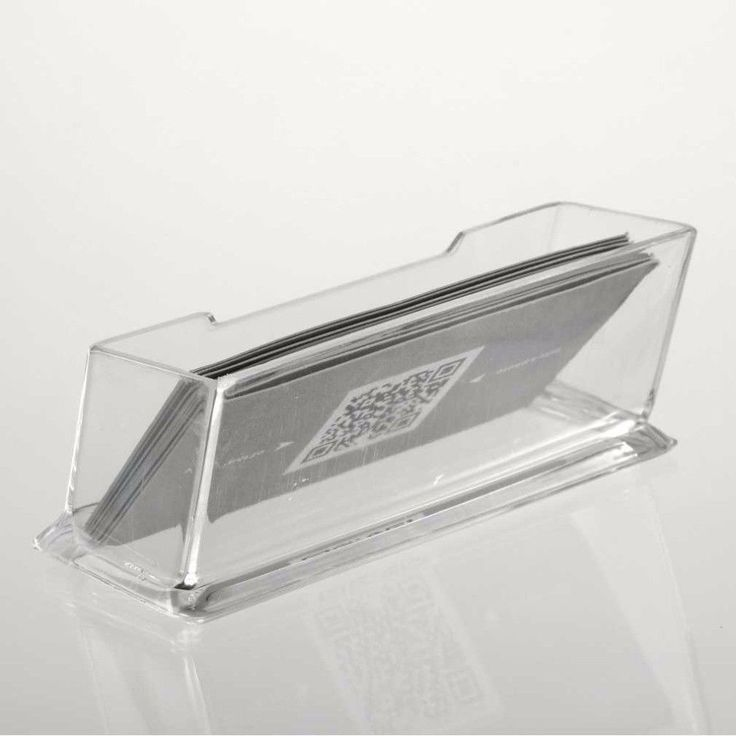 ·Clear Desktop Business Card Holder Display Stand Acrylic Plastic Organizer New #UnbrandedGeneric