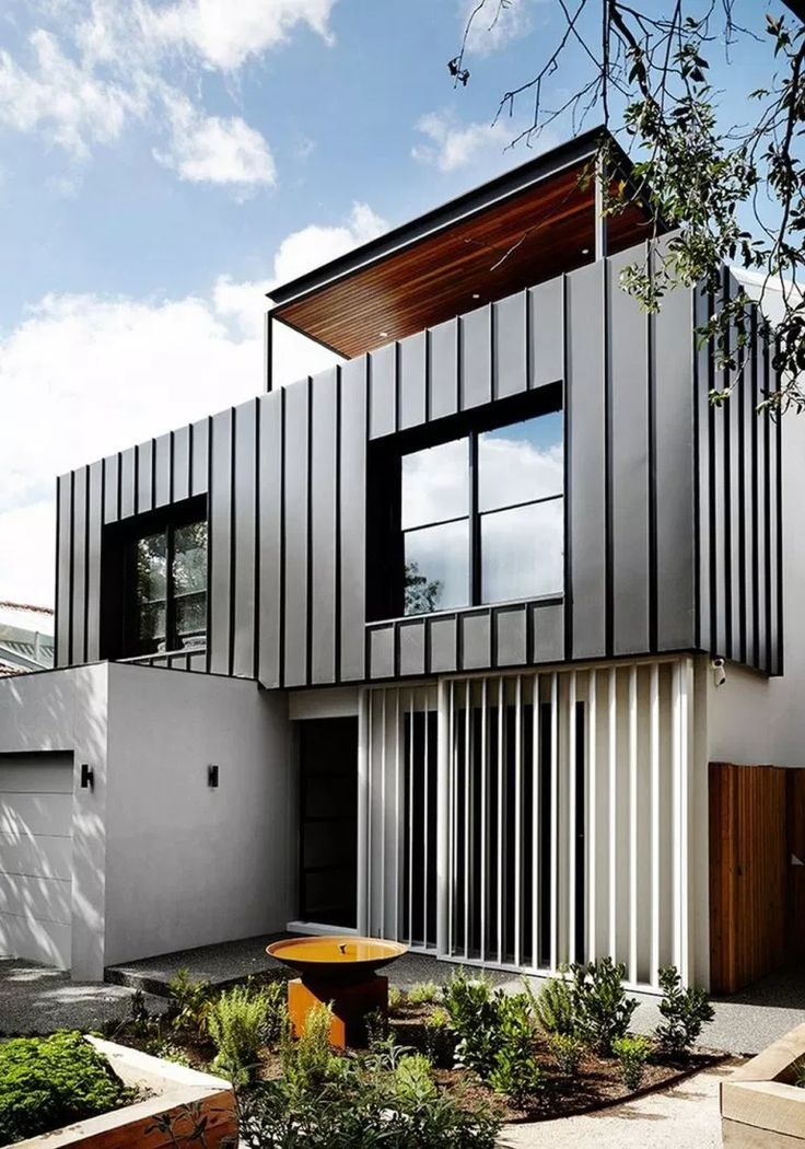 51 Inspiring Residential Architecture Building For You 6 Fieltro Net In 2020 Modern House Exterior House Cladding Modern House Design