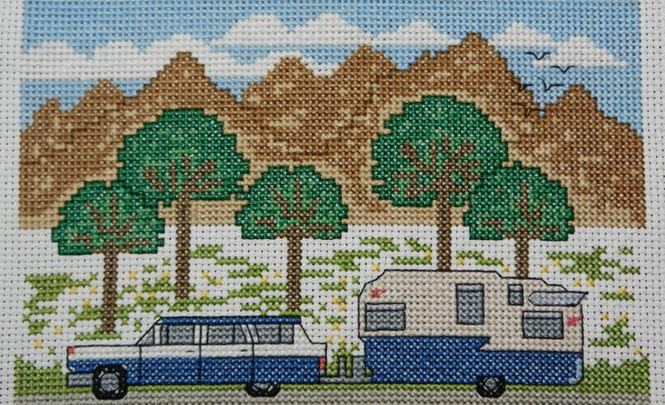 Camp Cross Stitch | Cross Stitch Kits and Patterns | Camping and ...