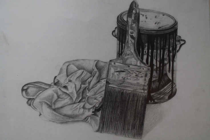 Logan Moffat, 15.  Material- pencil