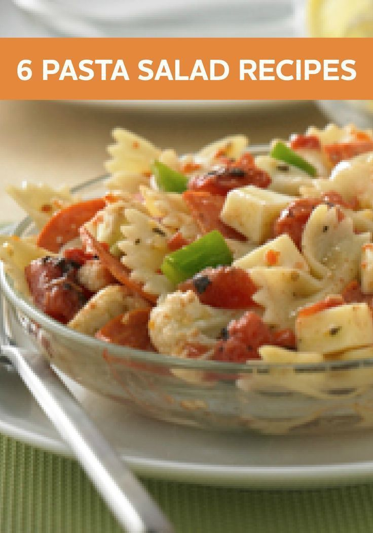 Mix up your weeknight dinner menu with these delicious and for Cold pasta salad ideas