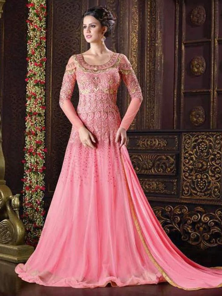 336 best Designer Gown 2017 images on Pinterest | Anarkali dress ...