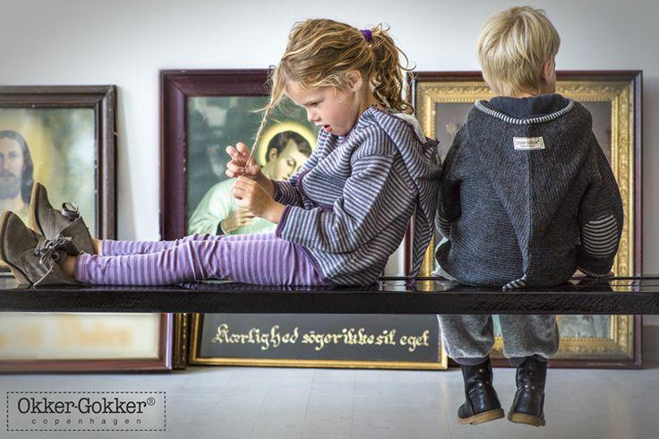 pure wool, organic children's wear designed in Denmark. Okker-Gokker