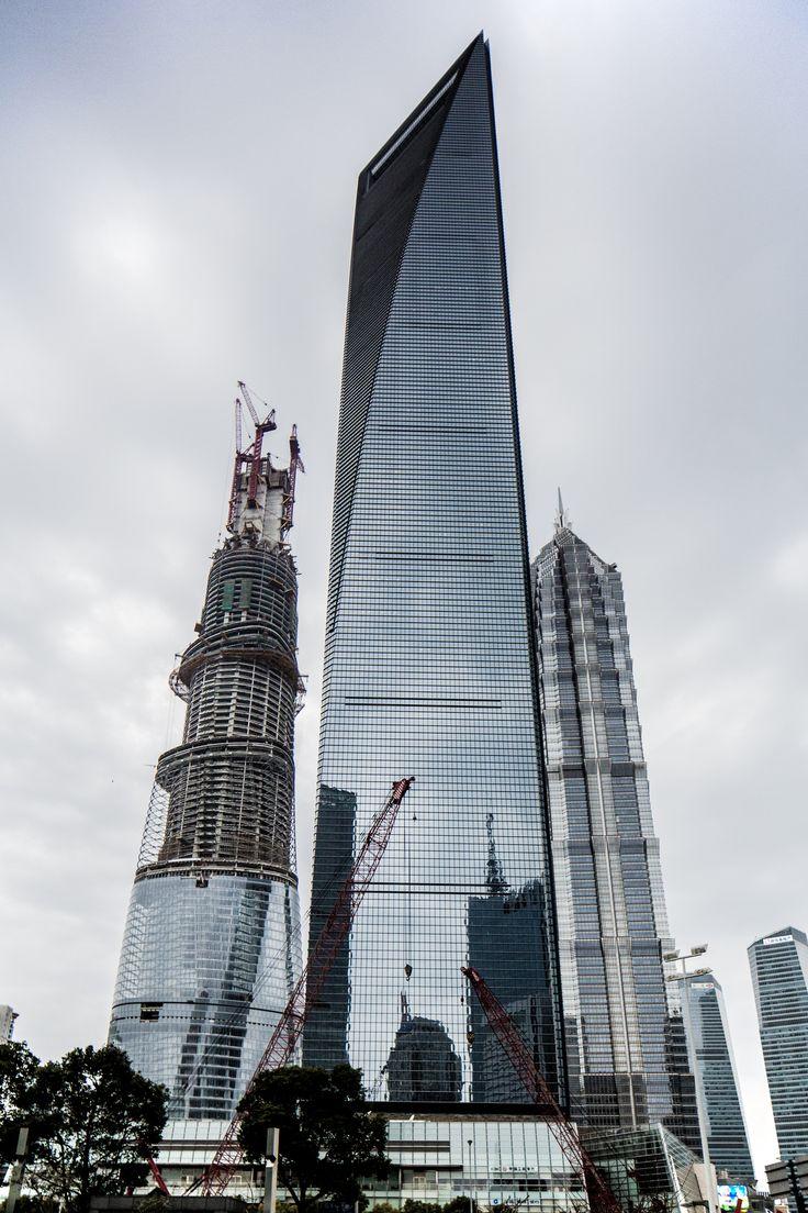 Shanghai World Financial Center / Shanghai / China | Architect: Kohn Pedersen Fox Associates