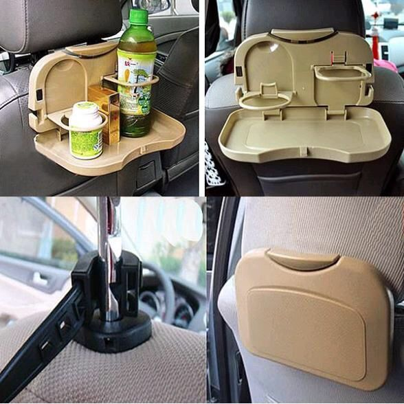 car cup holder car drink holder folding table debris rack automotive supplies Car seat shelf Shelf in seats store content ark http://ali.pub/1uj3ma