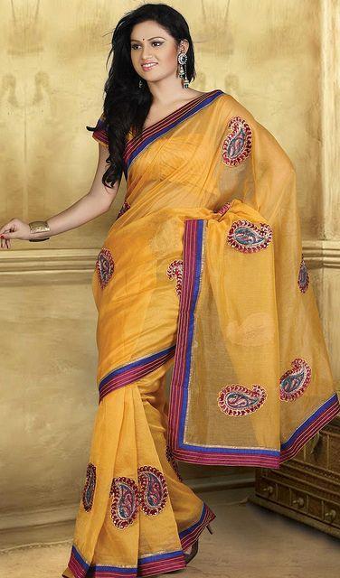 mustard-cotton-saree-10744