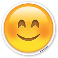 Smiling Face with Smiling Eyes | Emoji Stickers