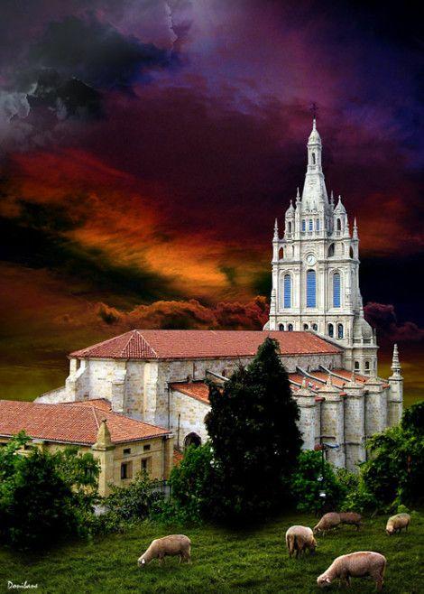 Basílica de Begoña por Donibane. #bilbao #begoña #basílica #bizkaia #basquecountry #donibane