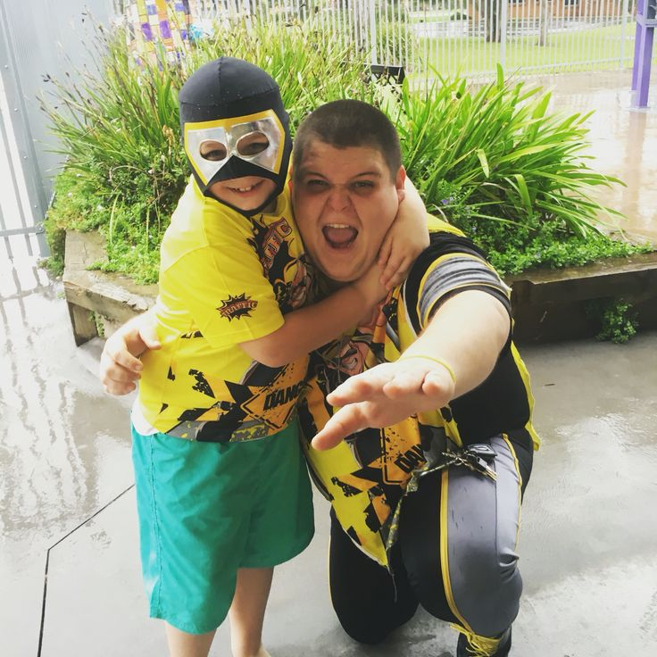 It's never too wet for a Super Wrestling Heroes Party!! Happy 8th Birthday Skylar we hope you and your friends had a SLAMMING Birthday Party!! Thanks for the memories!! To have the Super Wrestling Heroes be a part of your son or daughters next party or celebration visit www.superwrestlingheroes.com.au ARE YOU READY TO PARTY?! #superwrestlingheroes #berkeley #wrestlingparty #headlock #turning8 #illawarra