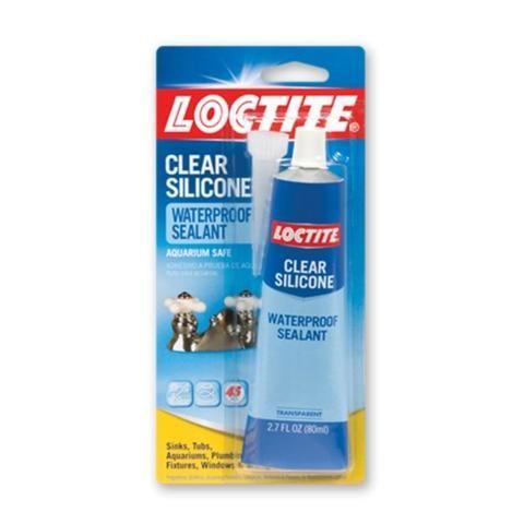Loctite Aquarium Safe Silicone 2 7oz In 2020 Sealant Clear Silicone Adhesive