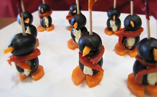 Use any Tastefully Simple seasoning with cream cheese and make these adorable edible penguins - won't kids love it!  http://www.tastefullysimple.com/web/ewills