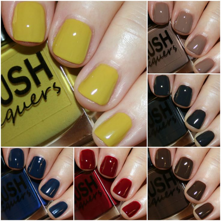 BLUSH Lacquers Sherlock Collection