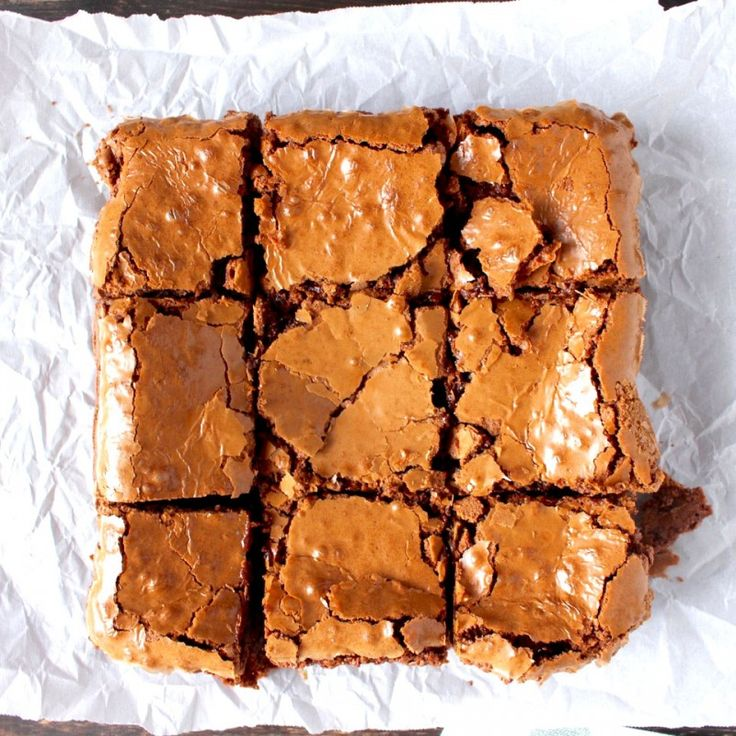 Check out Coconut Oil Brownies. It's so easy to make ...