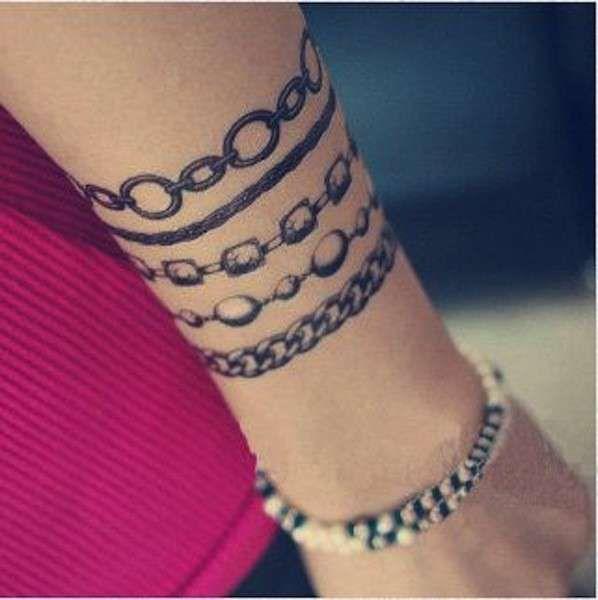 Tatuaggi bracciali donna  (Foto 5/40) | Donna