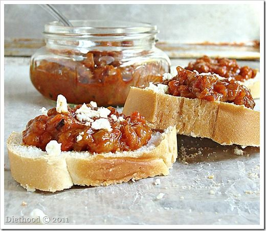 Roasted Red Pepper Relish: Roasted and ground red peppers - Ajvar - makes great appetizer.