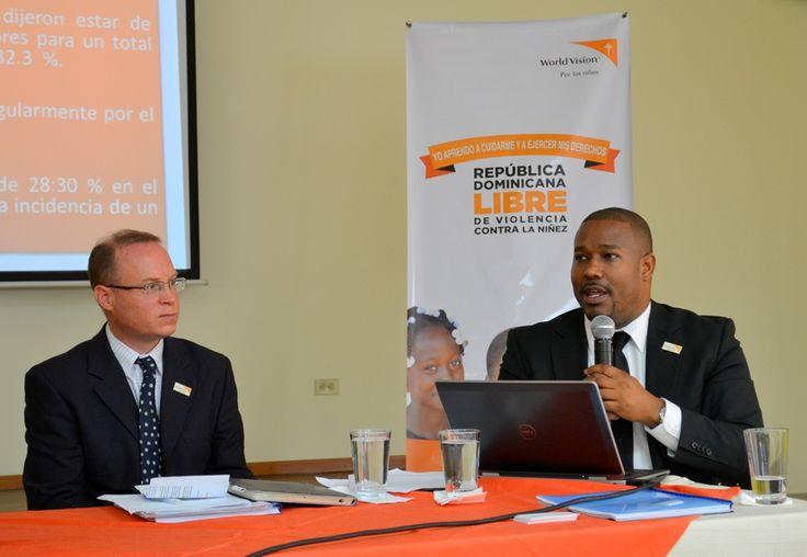 """World Vision manifiesta preocupación por los niveles de violencia arraigados en la cultura dominicana, para """"disciplinar"""" a niños  y adolescentes"""